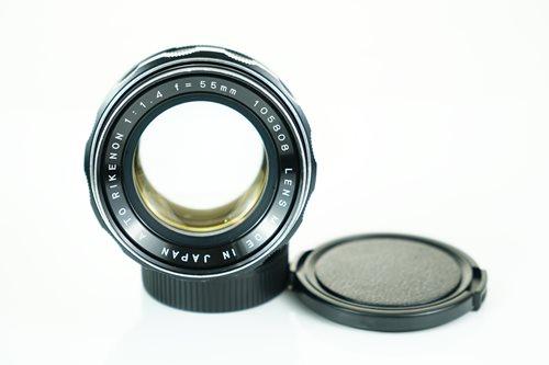 Rikenon 55mm f1.4  รูปขนาดปก ลำดับที่ 1 Rikenon 55mm f1.4