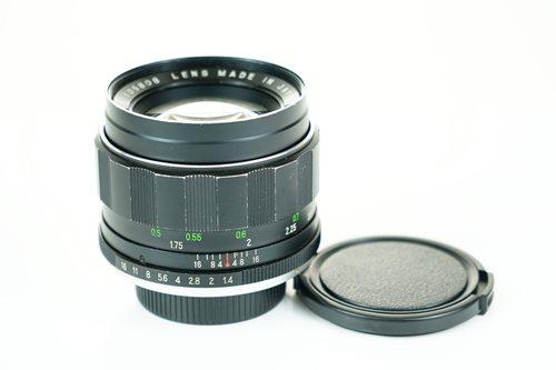 Rikenon 55mm f1.4  รูปขนาดปก ลำดับที่ 2 Rikenon 55mm f1.4