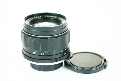Rikenon 55mm f1.4  รูปขนาดปก ลำดับที่ 3 Rikenon 55mm f1.4