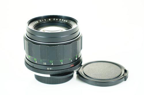 Rikenon 55mm f1.4  รูปขนาดปก ลำดับที่ 4 Rikenon 55mm f1.4