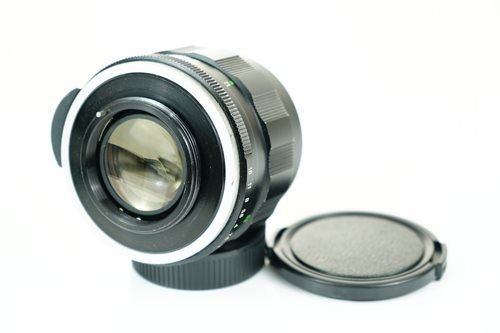 Rikenon 55mm f1.4  รูปขนาดปก ลำดับที่ 7 Rikenon 55mm f1.4