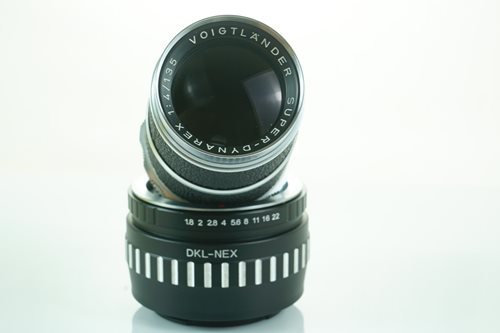 Voigtlander  Super-Dynarex 135mm f4  รูปขนาดปก ลำดับที่ 1 Voigtlander  Super-Dynarex 135mm f4