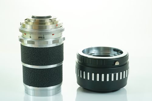 Voigtlander  Super-Dynarex 135mm f4  รูปขนาดปก ลำดับที่ 4 Voigtlander  Super-Dynarex 135mm f4