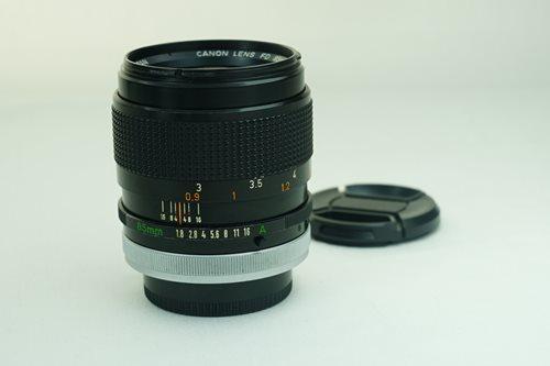 Canon 85mm f1.8 S.S.C.  รูปขนาดปก ลำดับที่ 2 Canon 85mm f1.8 S.S.C.