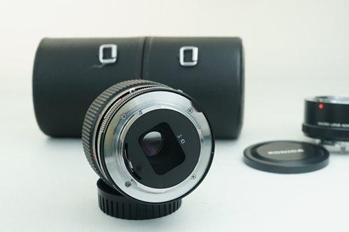 Konica AR 55mm f3.5 Macro + 1:1 Adapter  รูปขนาดปก ลำดับที่ 7 Konica AR 55mm f3.5 Macro + 1:1 Adapter
