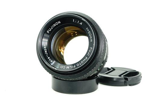 Fujinon 50mm f1.4  รูปขนาดปก ลำดับที่ 1 Fujinon 50mm f1.4