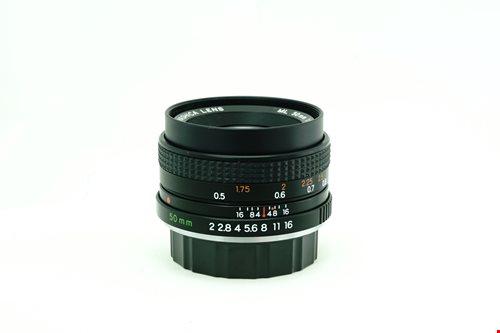 Yashica ML 50mm f2  รูปขนาดปก ลำดับที่ 2 Yashica ML 50mm f2