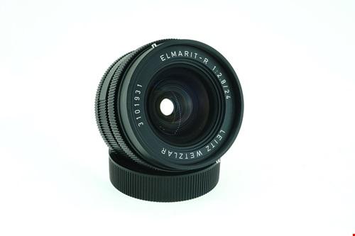 Leica Elmarit-R 24mm f2.8 + กล่องใส่เลนส์  รูปขนาดปก ลำดับที่ 1 Leica Elmarit-R 24mm f2.8 + ?????????????