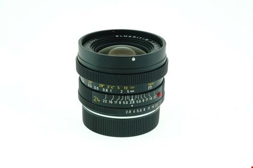 Leica Elmarit-R 24mm f2.8 + กล่องใส่เลนส์  รูปขนาดปก ลำดับที่ 2 Leica Elmarit-R 24mm f2.8 + ?????????????