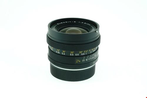 Leica Elmarit-R 24mm f2.8 + กล่องใส่เลนส์  รูปขนาดปก ลำดับที่ 3 Leica Elmarit-R 24mm f2.8 + ?????????????