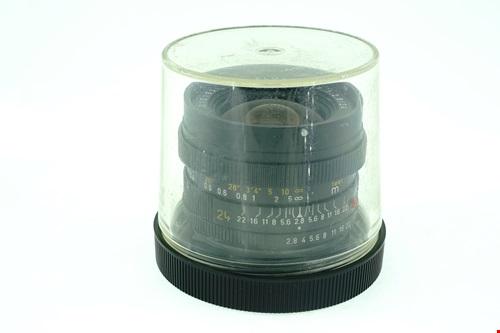 Leica Elmarit-R 24mm f2.8 + กล่องใส่เลนส์  รูปขนาดปก ลำดับที่ 7 Leica Elmarit-R 24mm f2.8 + ?????????????