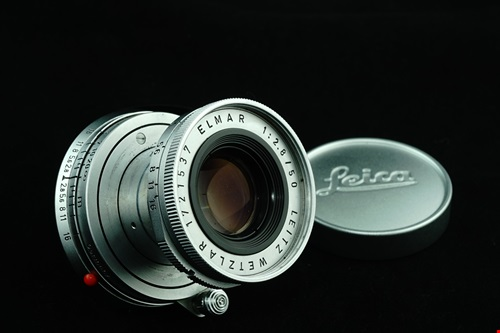 Leica Elmar 50mm f2.8  รูปขนาดปก ลำดับที่ 1 Leica Elmar 50mm f2.8
