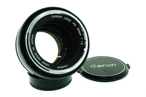 Canon FD 55mm f1.2  รูปขนาดปก ลำดับที่ 1 Canon FD 55mm f1.2