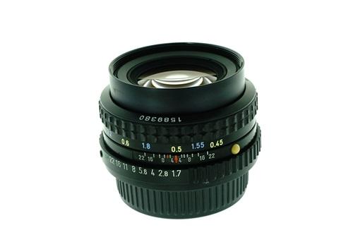 Pentax-A 50mm f1.7  รูปขนาดปก ลำดับที่ 2 Pentax-A 50mm f1.7