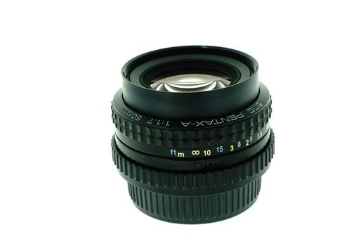 Pentax-A 50mm f1.7  รูปขนาดปก ลำดับที่ 5 Pentax-A 50mm f1.7