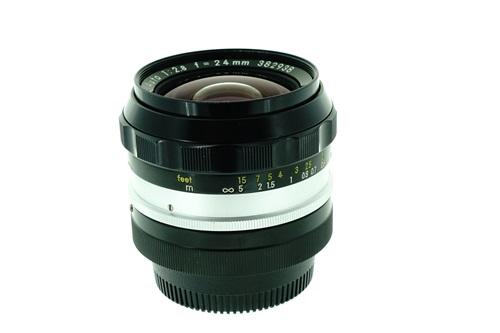 Nikon 24mm f2.8  รูปขนาดปก ลำดับที่ 5 Nikon 24mm f2.8