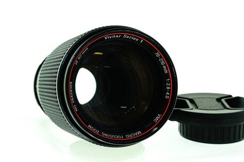Vivitar Series 1 70-210mm f2.8-4 #2  รูปขนาดปก ลำดับที่ 1 Vivitar Series 1 70-210mm f2.8-4