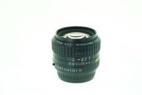 Pentax-A 55mm f1.2  รูปขนาดปก ลำดับที่ 2 Pentax-A 55mm f1.2