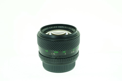 Porst 55mm f1.2  รูปขนาดปก ลำดับที่ 5 Porst 55mm f1.2