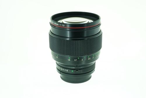 Canon 85mm f1.2L  รูปขนาดปก ลำดับที่ 3 Canon 85mm f1.2L