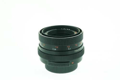 Pentacon 50mm f1.8 (Red Multicoat)  รูปขนาดปก ลำดับที่ 4 Pentacon 50mm f1.8 (Red Multicoat)