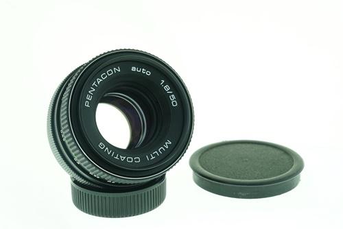 Pentacon 50mm f1.8  รูปขนาดปก ลำดับที่ 1 Pentacon 50mm f1.8