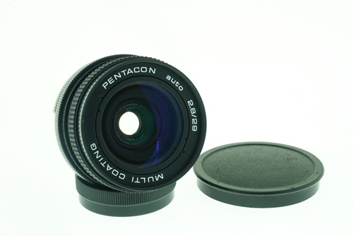 Pentacon 29mm f2.8  รูปขนาดปก ลำดับที่ 1 Pentacon 29mm f2.8