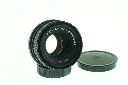 Pentacon 50mm f1.8 (Red Multicoat)  รูปขนาดปก ลำดับที่ 1 Pentacon 50mm f1.8 (Red Multicoat)