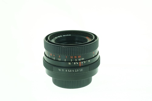 Pentacon 50mm f1.8 (Red Multicoat)  รูปขนาดปก ลำดับที่ 2 Pentacon 50mm f1.8 (Red Multicoat)