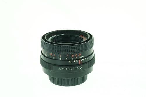 Pentacon 50mm f1.8 (Red Multicoat)  รูปขนาดปก ลำดับที่ 6 Pentacon 50mm f1.8 (Red Multicoat)