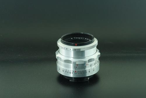 Carl zeiss tessar silver 50mm f2.8 - 8 blade  รูปขนาดปก ลำดับที่ 2 Carl zeiss tessar silver 50mm f2.8 - 8 blade