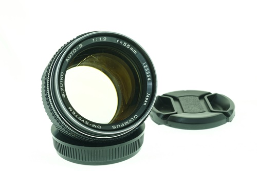 Olympus 55mm f1.2  รูปขนาดปก ลำดับที่ 1 Olympus 55mm f1.2