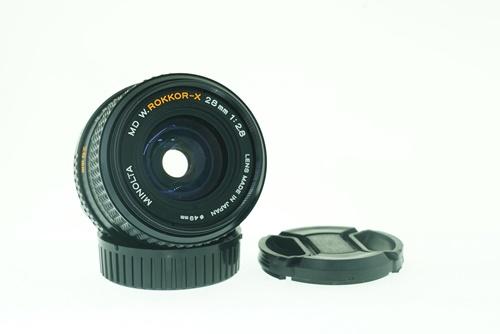 Minolta Rokkor-X 28mm f2.8  รูปขนาดปก ลำดับที่ 1 Minolta Rokkor-X 28mm f2.8