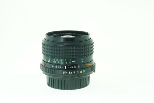 Minolta Rokkor-X 28mm f2.8  รูปขนาดปก ลำดับที่ 2 Minolta Rokkor-X 28mm f2.8