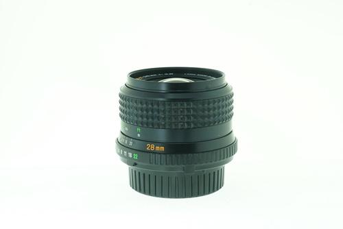 Minolta Rokkor-X 28mm f2.8  รูปขนาดปก ลำดับที่ 3 Minolta Rokkor-X 28mm f2.8