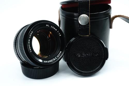 Yashica ML 50mm f1.4  รูปขนาดปก ลำดับที่ 1 Yashica ML 50mm f1.4