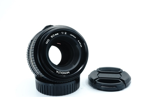 Minolta 50mm f2  รูปขนาดปก ลำดับที่ 1 Minolta 50mm f1.7