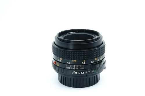 Minolta 50mm f2  รูปขนาดปก ลำดับที่ 2 Minolta 50mm f1.7