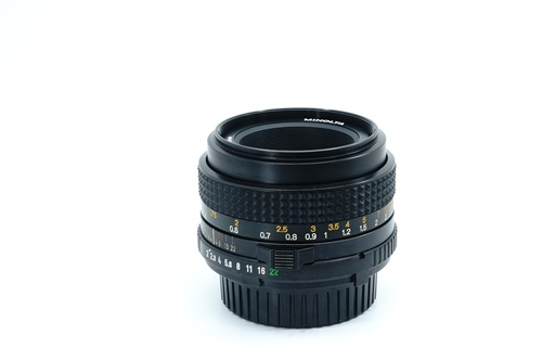 Minolta 50mm f2  รูปขนาดปก ลำดับที่ 3 Minolta 50mm f1.7