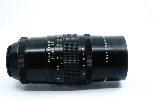 Pentacon 200mm f4 - 15 Blade  รูปขนาดปก ลำดับที่ 3 Pentacon 200mm f4 - 15 Blade