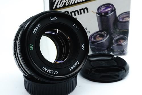 Kalimar 50mm f1.7  รูปขนาดปก ลำดับที่ 1 Kalimar 50mm f1.7