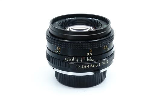 Kalimar 50mm f1.7  รูปขนาดปก ลำดับที่ 2 Kalimar 50mm f1.7