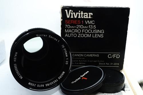 Vivitar Series 1 70-210mm f3.5 Macro Focusing Zoom  รูปขนาดปก ลำดับที่ 1 Vivitar Series 1 70-210mm f3.5 Macro Focusing Zoom