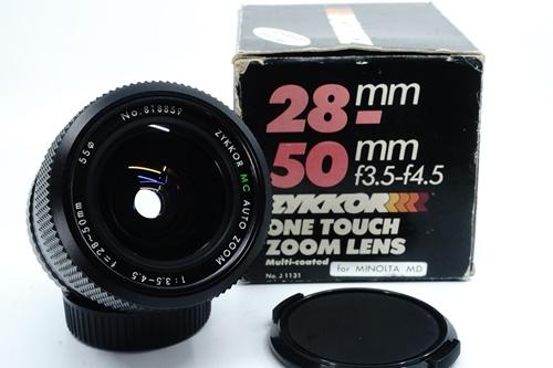 Zykkor 28-50mm f3.5-4.5  รูปขนาดปก ลำดับที่ 1 Zykkor 28-50mm f3.5-4.5