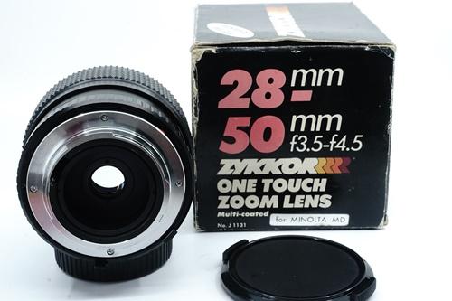Zykkor 28-50mm f3.5-4.5  รูปขนาดปก ลำดับที่ 7 Zykkor 28-50mm f3.5-4.5