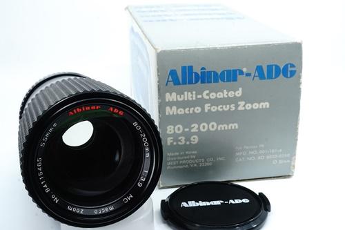 Albinar 80-200mm f3.9  รูปขนาดปก ลำดับที่ 1 Albinar 80-200mm f3.9