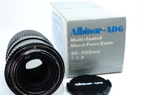 Albinar 80-200mm f3.9  รูปขนาดปก ลำดับที่ 7 Albinar 80-200mm f3.9