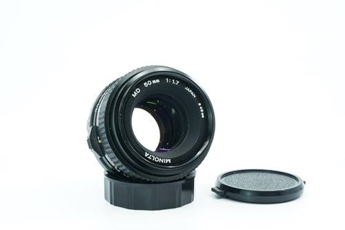 Minolta MD 50mm f1.7  รูปขนาดปก ลำดับที่ 1 Minolta MD 50mm f1.7