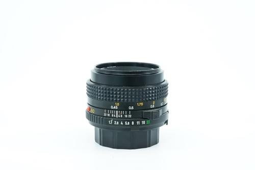 Minolta MD 50mm f1.7  รูปขนาดปก ลำดับที่ 2 Minolta MD 50mm f1.7