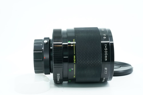 Soligor C/D 500mm f8  รูปขนาดปก ลำดับที่ 1 Soligor C/D 500mm f8